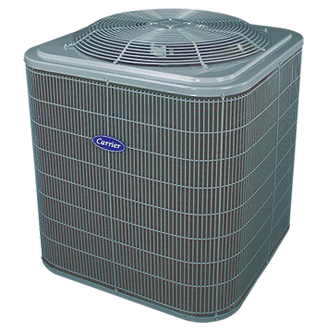 Carrier Comfort 14 coastal central air conditioner.