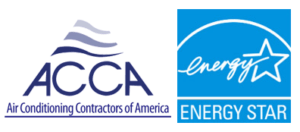 Air Conditioning Contractors of American and Energy Star logos.