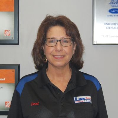 Carol W. of Link Service Heating & Cooling.