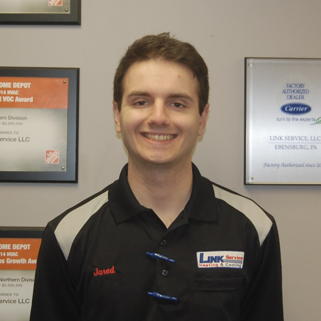 Jared B. of Link Service Heating & Cooling.