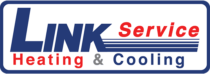 Link Service Heating and Cooling logo.